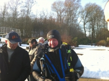 Neujahrstauchen 2011 beim HFK