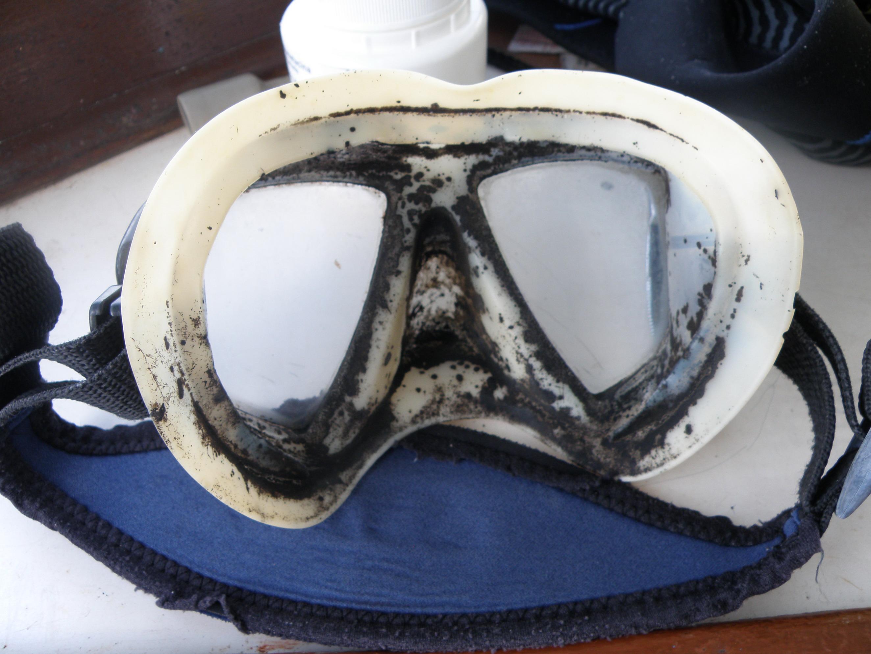 Tauchermaske - Wie sie NICHT aussehen sollte
